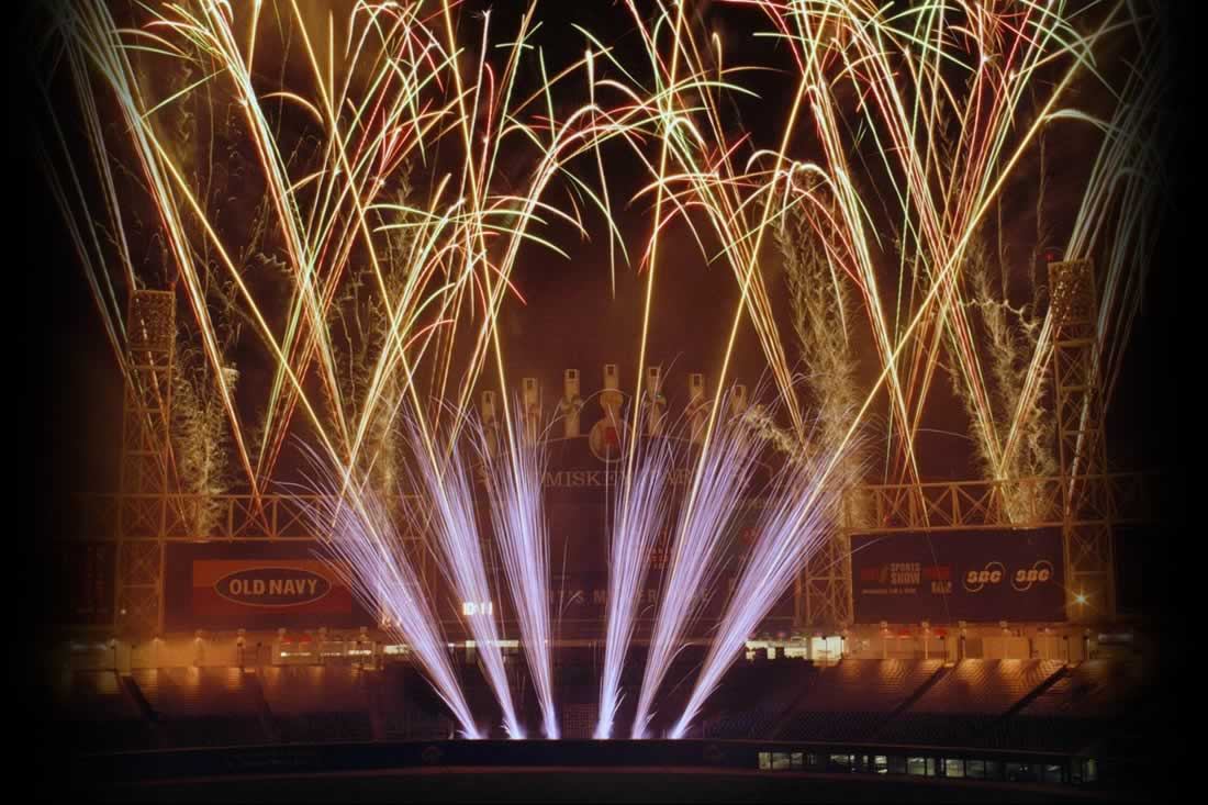 Chicago White Sox Fireworks Display