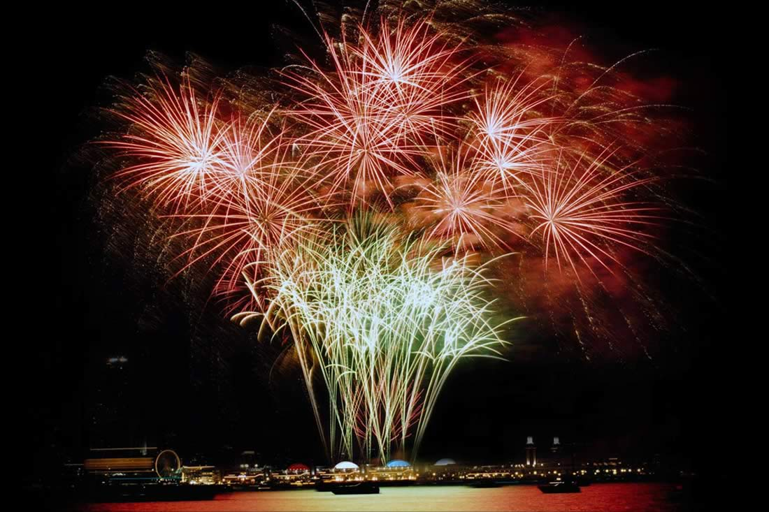Navy Pier Fireworks Display