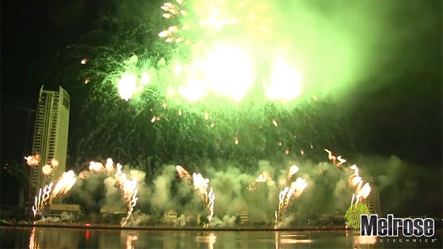 Award-winning fireworks display company